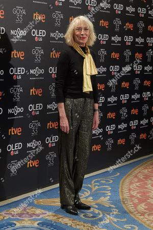 Editorial photo of Goya Cinema Awards Dinner, Madrid, Spain - 14 Jan 2019
