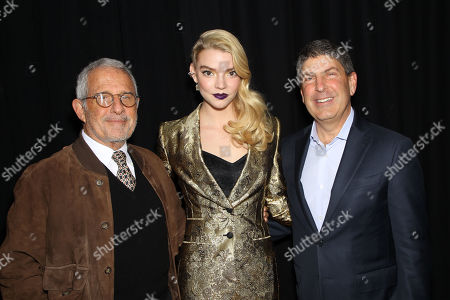 Ron Meyer (Vice Chairman NBCUniversal), Anya Taylor-Joy, Jeff Shell (Chairman Filmed Ent. Croup)