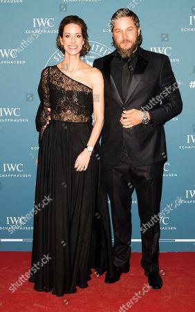 Franziska Gsell and Travis Fimmel