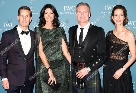 Christoph Grainger-Herr CEO IWC, David Coulthard, Karen Minier and Franziska Gsell