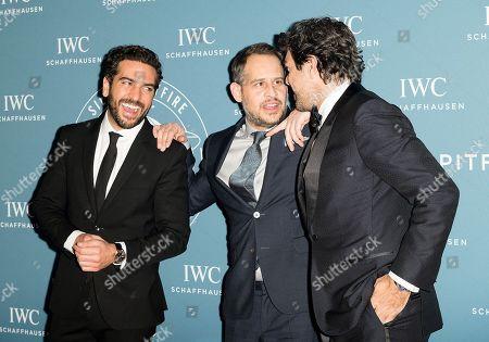 Elyas M Barek, Moritz Bleibtreu and Pierfrancesco Favino