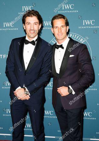 Fabian Cancellara and Christoph Grainger Herr CEO IWC