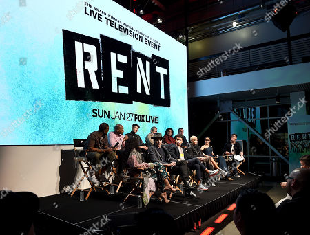 Editorial image of FOX'S 'Rent' Sing-Along YouTube event, Los Angeles, USA - 15 Jan 2019