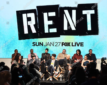 Editorial picture of FOX'S 'Rent' Sing-Along YouTube event, Los Angeles, USA - 15 Jan 2019