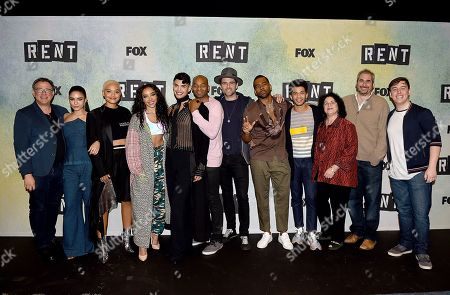 Editorial photo of FOX'S 'Rent' Sing-Along YouTube event, Los Angeles, USA - 15 Jan 2019