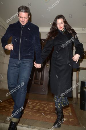 Dave Gardner and Liv Tyler