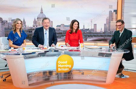 Charlotte Hawkins, Piers Morgan, Susanna Reid and Tony Adams