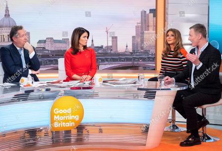 Editorial photo of 'Good Morning Britain' TV show, London, UK - 16 Jan 2019