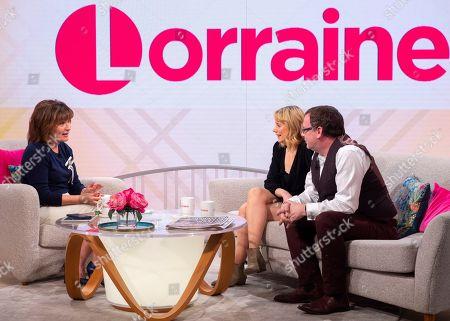 Lorraine Kelly, Kellie Shirley and Adam Woodyatt
