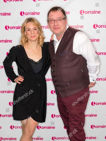 Kellie Shirley and Adam Woodyatt