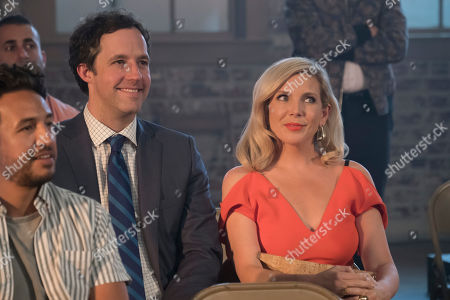Stock Photo of Peter Cambor as Barry and June Diane Raphael as Brianna Hanson