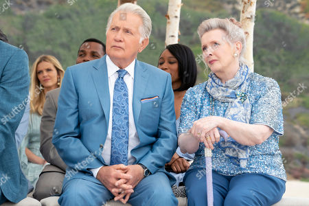 Stock Picture of Martin Sheen as Robert and Millicent Martin as Joan Margaret