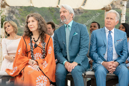 Lily Tomlin as Frankie Bergstein and Sam Waterston as Sol Bergstein and Martin Sheen as Robert