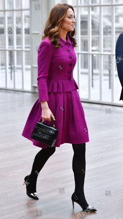 Catherine Duchess of Cambridge visit to the Royal Opera House, London
