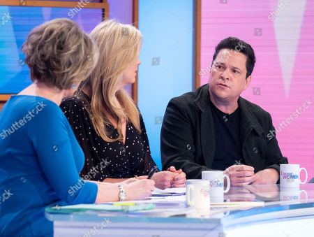 Ruth Langsford, Penny Lancaster, Dom Joly