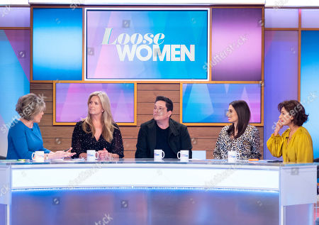 Ruth Langsford, Penny Lancaster, Dom Joly, Stacey Solomon and Saira Khan