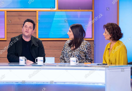 Dom Joly, Stacey Solomon and Saira Khan