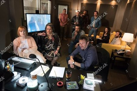 Lidia Porto as Amara De Escalones, Ray Romano as Rick Moreweather and Chris O'Dowd as Miles Daly