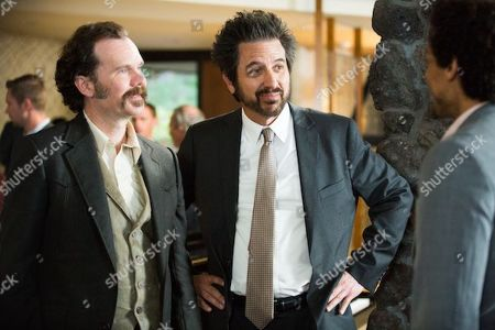 Sean Bridgers as Louis Darnell and Ray Romano as Rick Moreweather