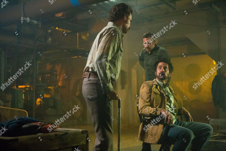 Sean Bridgers as Louis Darnell, Chris O'Dowd as Miles Daly and Ray Romano as Rick Moreweather