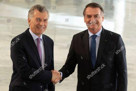 President of Argentinia, Mauricio Macri, visit to Brazil