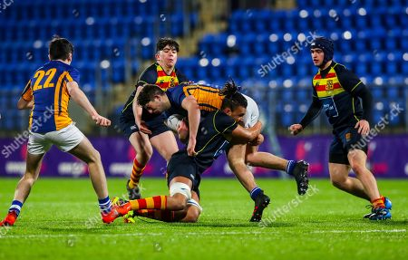 Editorial picture of Bank of Ireland Vinnie Murray Cup Round 1, Energia Park, Donnybrook, Dublin  - 16 Jan 2019