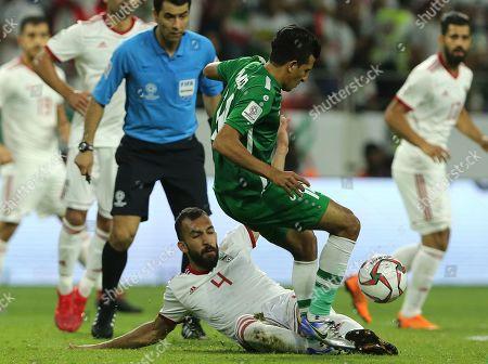 Editorial photo of Emirates Soccer AFC Asian Cup Iran Iraq, Dubai, United Arab Emirates - 16 Jan 2019