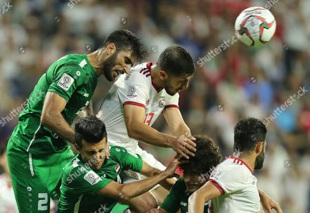 Editorial picture of Emirates Soccer AFC Asian Cup Iran Iraq, Dubai, United Arab Emirates - 16 Jan 2019