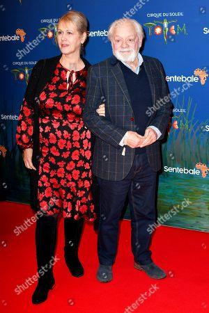 Gill Hinchcliffe and Sir David Jason
