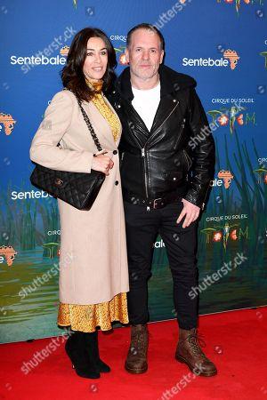 Tiffany Austin and Chris Moyles