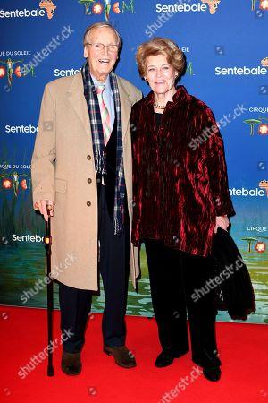 Nicholas Parsons and Ann Reynolds