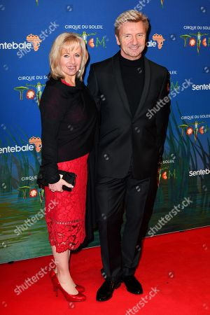 Karen Barber and Christopher Dean