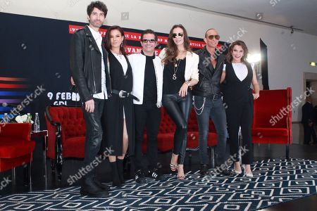 Editorial picture of Timbiriche 'Juntos Tour' press conference, Mexico City, Mexico - 15 Jan 2019