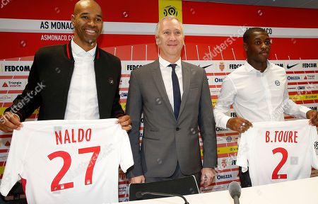 Editorial image of Presentations of new AS Monaco players - 16 Jan 2019