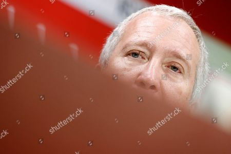 AS Monaco's vice president Vadim Vasilyev attends a press conference during the official presentation of the new players at Louis II stadium in Monaco, 16 January 2019.