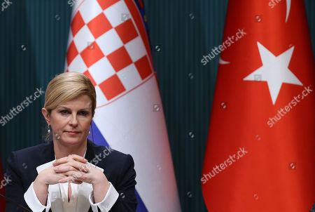 President of Croatia Kolinda Grabar-Kitarovic visit to Turkey