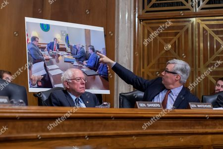 Editorial picture of Environmental Protection Agency administrator Andrew Wheeler confirmation hearing, Washington, USA - 16 Jan 2019
