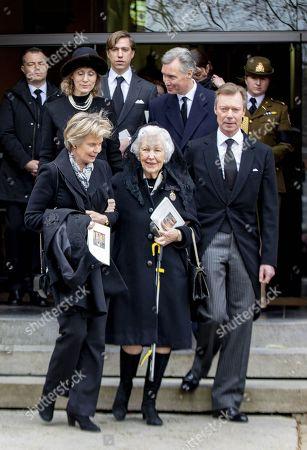 Grand Duke Henri of Luxembourg  Princess Marie-Astrid
