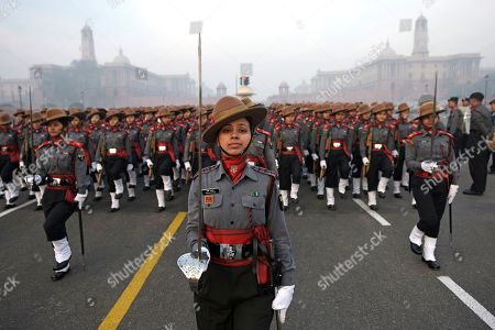 Republic Day Parade rehearsals, New Delhi