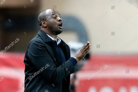 OGC Nice French head coach Patrick Vieira arrives at the French Ligue 1 soccer match, AS Monaco vs OGC Nice, at Stade Louis II, in Monaco, 16 January 2019.