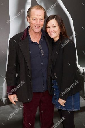 Stock Picture of Iain Glen and Charlotte Emmerson