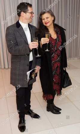 Richard Thomas and Tracey Ullman