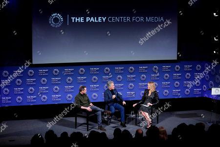 Stock Picture of Callahan Walsh, John Walsh, Paula Zahn (Moderator)