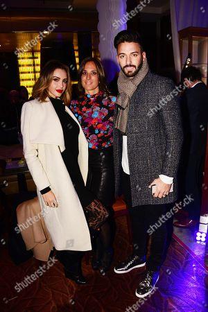 Nabila and Tracy Cohen Sebag (Directrice de la Clinique) with  Thomas Vergara