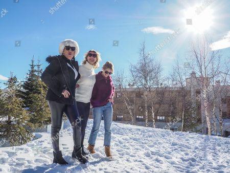 Alexandra Lamy, Anne Marivin and Rossy De Palma