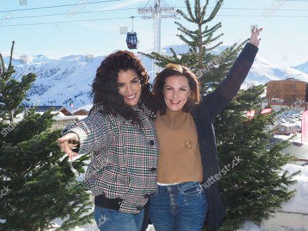 Editorial photo of International Comedy Film Festival, Day 2, Alpe d'Huez, France - 16 Jan 2019
