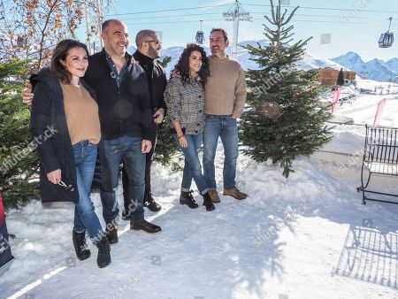 Editorial picture of International Comedy Film Festival, Day 2, Alpe d'Huez, France - 16 Jan 2019