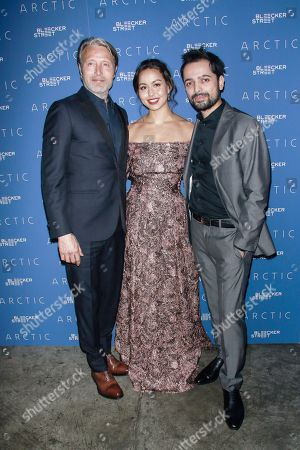 Mads Mikkelsen, Maria Thelma and Joe Penna