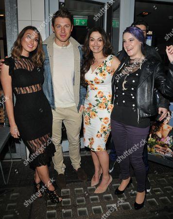 Luisa Zissman, Tonia Buxton, Jasz Vegas and guests