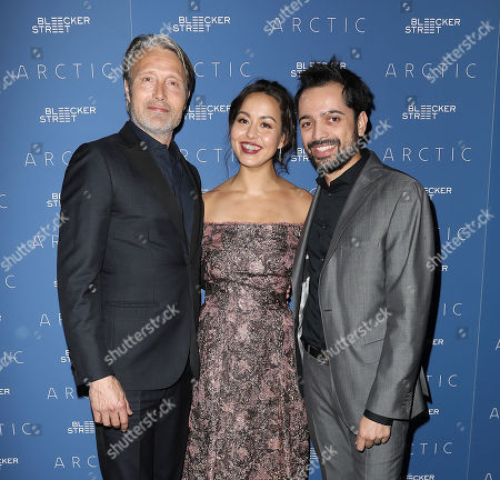 Stock Image of Mads Mikkelsen, Maria Thelma Smaradottir and Joe Penna (Director)
